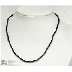13- STERLING SILVER SPINEL NECKLACE