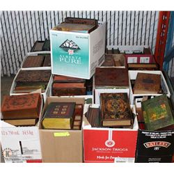 "15 BOXES OF ""HIDDEN TREASURES"" BOOKS"