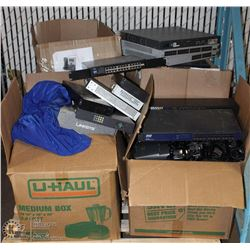 PALLET OF LOT OF 120+ CISCO V0IP BUSINESS PHONES