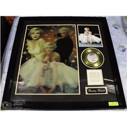 MARILYN MONROE 3D PICTURE FRAMED W/ COLLECTORS