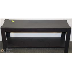BLACK COFFEE TABLE/TV STAND