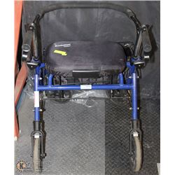 EVOLUTION WALKER WITH BASKET AND PADDED SEAT