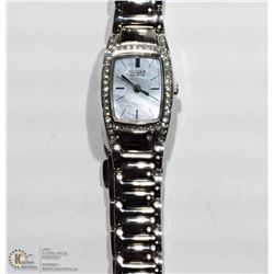28- CITIZEN ECO CRYSTAL LADIES WATCH