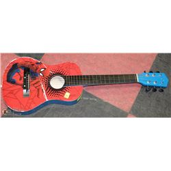 SPIDERMAN ACOUSTIC GUITAR