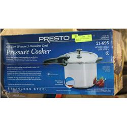 PRESTO 5.7L PRESSURE COOKER NEW IN BOX