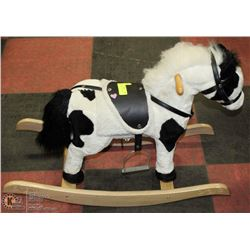ROCKING HORSE WITH SOUND EFFECTS