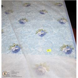 NEW QUEEN SIZE FLORAL MATTRESS BOXSPRING NOT