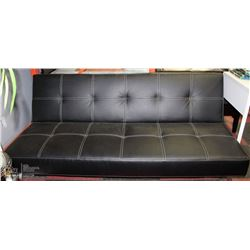 NEW WALLACE LEATHERETTE FOLD DOWN SOFA BED