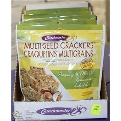 CASE OF 8 MULTI SEED CRACKERS