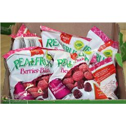 CASE OF 12 WITH 12 BAGS OF REAL FRUIT BERRY CANDY