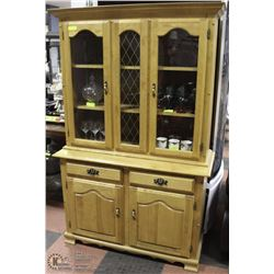 WHITE BIRCH CHINA CABINET