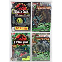 FULL SET OF ORIGINAL JURASSIC PARK COMICS