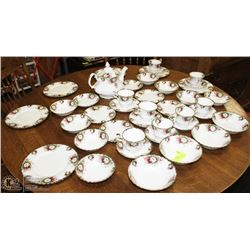22)COLLECTION OF 56PCS ROYAL ALBERT CHINA