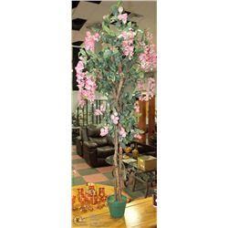 5.5' SILK TREE WITH FLOWERS