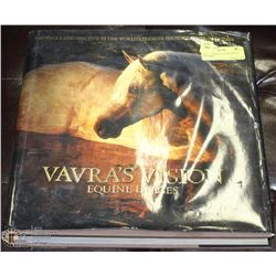 VAVRA'S VISION EQUINE IMAGES ART BOOK