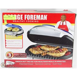 20)GEORGE FOREMAN GRILL