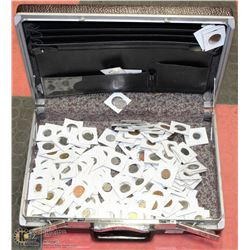 BRIEFCASE FULL OF COINS