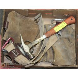 KUNY'S TOOL BELT WITH HAMMER
