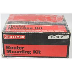 "CRAFTSMAN ROUTER MOUNTING KIT FITS (10"" TABLE SAW)"