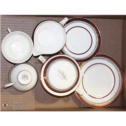 8PCS OF ROYAL CROWN MYOTTS STAFFORDSHIRE