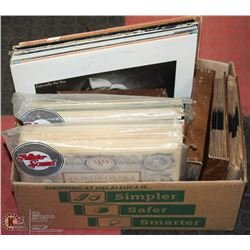 ESTATE BOX OF ASSORTED SIZE RECORDS