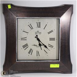 "DECORATIVE WALL CLOCK (20""X20"")"
