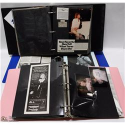3 BINDER COLLECTION OF BARRY MANILOW, SOME