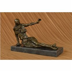 Modern art Mid Century Female Bronze Sculpture