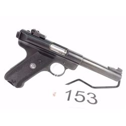 RESTRICTED. Ruger Target 22 with box and manual