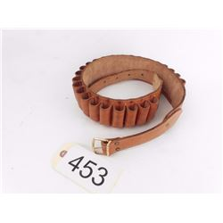 Leather Shot Shell Belt