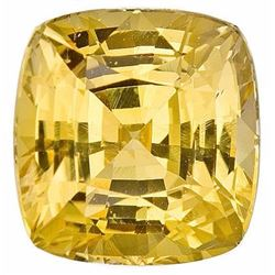 Natural Greenish Yellow Sapphire 4.60 Carats
