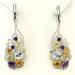Stunning Natural Gemstone Earrings
