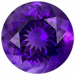 Natural Round Brilliant Amethyst 18.25 Carats - VVS