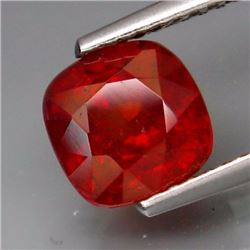 Natural Red Spessartite Garnet  2.28 cts