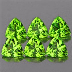 Natural Green Peridot 5.00 MM - VVS