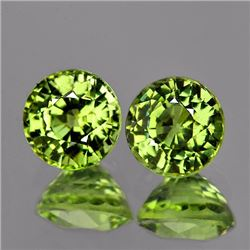 Natural Canary Green Mali Garnet 6.00 MM - AAA