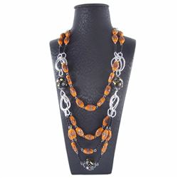 Stunning Natural Stone Hand Made necklace