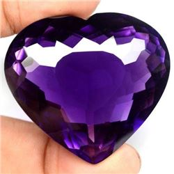 Natural Amethyst Heart 301.12 Carats - VVS