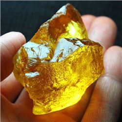 Natural Citrine Gemstone Rough 384 carats