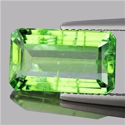 Natural Canary Green Apatite 4.73 Cts - (SI)