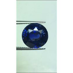 Natural Royal Blue Sapphire 5.79 Carats - GRS Certified