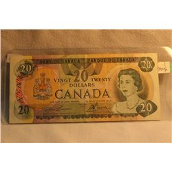 Canada Twenty Dollar Bill - 1979