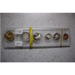 !988 Canada Penny to Loonie Set