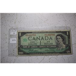 1967 Canada Centennial Dollar - Replacement Bill