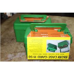 Pair of Green Ammo Boxes