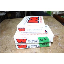 3 Boxes of Winchester 284 Brass