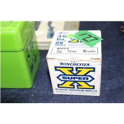 Box of Winchester 410 Ammo