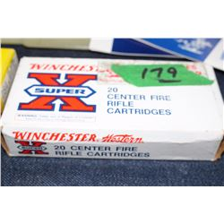 Box of Winchester 30.30 Ammo