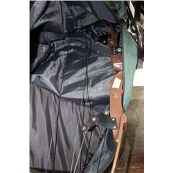 Compound Bow in Soft Carrying Case