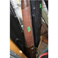 Heavy Leather-like Gun Case